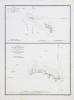 [FIDJI/TUVALU] Plan de l'île St. Augustin (de Maurelle) - Plan de la partie méridionale de l'île Rotouma.. DUPERREY (Louis-Isidore).