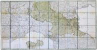 Carta del territorio della Repubblica Cisalpina e di parte delli stati limitrofi.. PAGNI (Niccolo) & BARDI (Lorenzo).