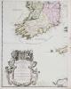Les Isles Britanniques où sont les royaumes d'Angleterre et d'Écosse, que nous appellons Grande-Bretagne et celuy d'Irlande.. DESNOS (Louis-Charles).