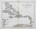 Carte des Antilles.. TARDIEU (Ambroise).