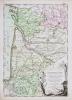 Gouvernements d'Aunis, de Saintonge, de Limosin, avec partie de celui de Guyenne et le gouvernement de Béarn et Basse Navarre.. DESNOS ...