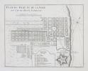 [AFRIQUE du SUD/LE CAP] Plan du fort et de la ville du Cap de Bonne Espérance.. BELLIN (Jacques-Nicolas).