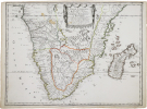 [AFRIQUE MÉRIDIONALE] Basse Æthiopie qui comprend les royaume de Congo, coste, et pays des Cafres, empires du Monomotapa, et Monoemugi.. SANSON ...