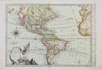 Carte nouvelle d'Amérique.. PHILIPPE de PRETOT (Etienne-André).