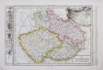 [BOHÊME] Chorographie du royaume de Bohême, du duché de Silésie, des marquisats de Moravie et de Lusace.. PHILIPPE de PRETOT (Etienne-André).