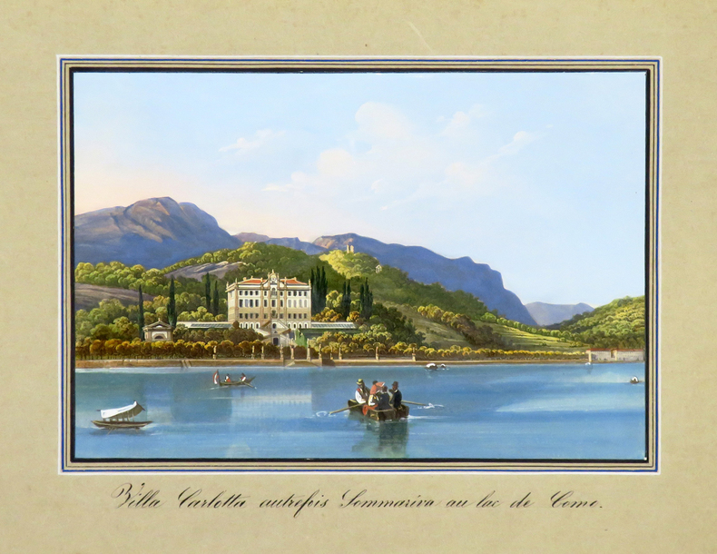 [LAC de CÔME] Villa Carlotta autrefois Sommariva au lac de Como..