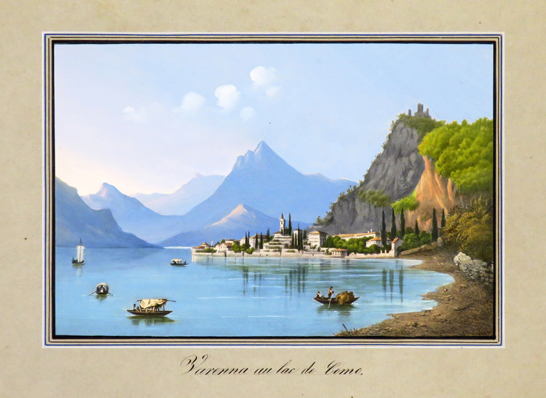 [LAC de CÔME] Varenna au lac de Como..