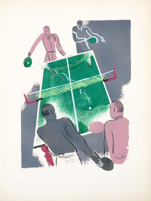 [LE PING-PONG].. UZELAC (Milivoy).