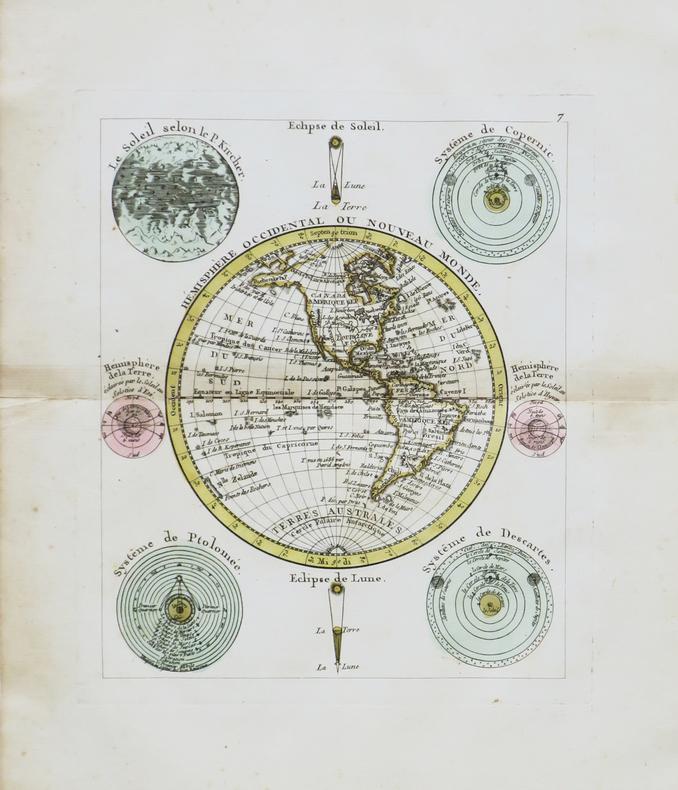 Hémisphère occidental ou Nouveau Monde.. NOLIN (Jean-Baptiste).