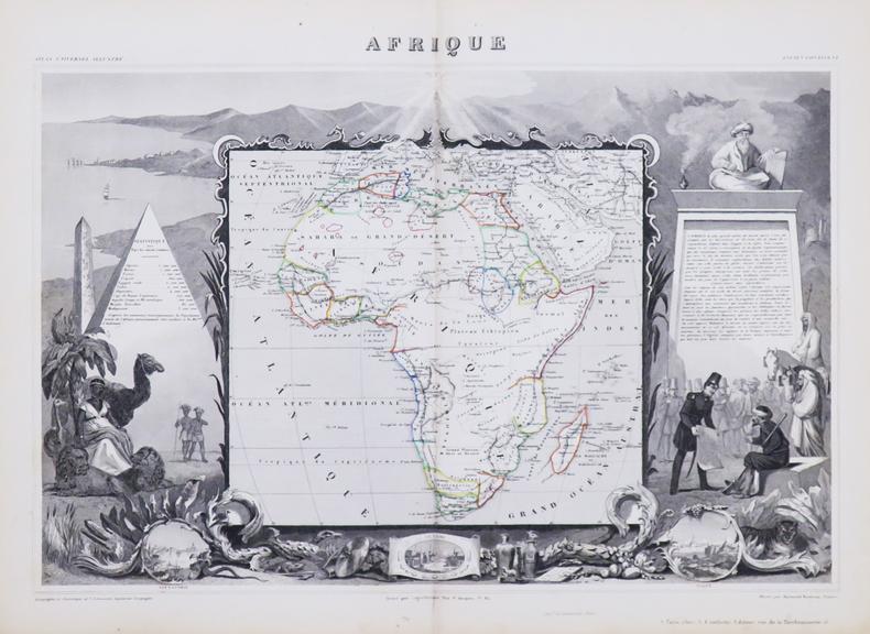 Afrique.. LEVASSEUR (Victor).