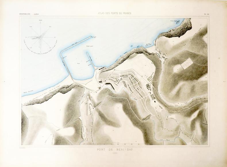 [ALGÉRIE/BENI SAF] Port de Beni-Saf.. ATLAS des PORTS de FRANCE.