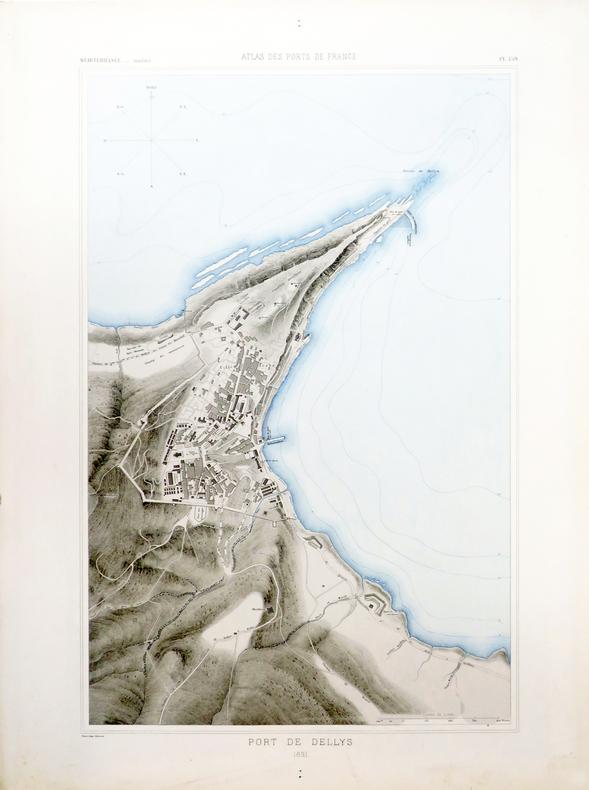 [ALGÉRIE/DELLYS] Port de Dellys.. ATLAS des PORTS de FRANCE.
