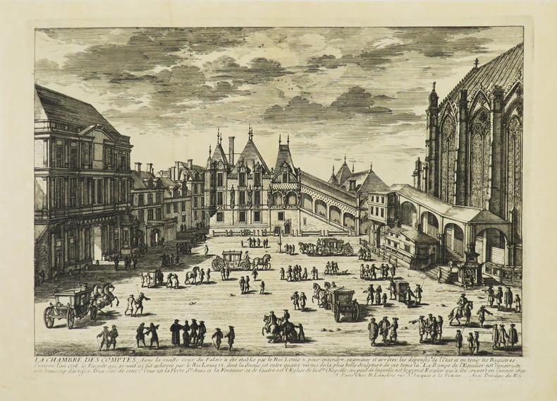 [PALAIS DE JUSTICE] La Chambre des Comptes.. PERELLE (Gabriel).