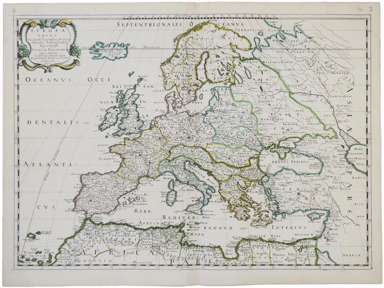 Europa vetus.. SANSON d'ABBEVILLE (Nicolas).