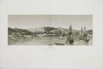 [INDONÉSIE/TIMOR] Timor. Vue de la rade, de la ville et du fort hollandois de Coupang.. FREYCINET (Louis-Claude Desaulses de).