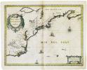 [MANHATTAN] Nova Anglia Novum Belgium et Virginia.. JANSSON (Johannes).