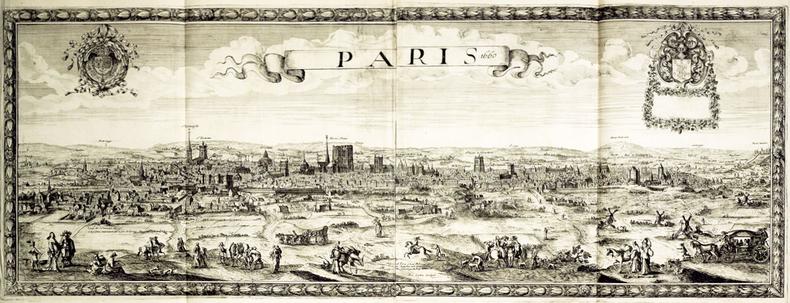 Paris 1660.. BEREY (Nicolas).