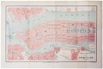 [NEW YORK] Plan de New-York (États-Unis).. HAUSERMANN (Rémi).