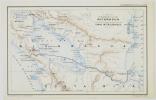 [NICARAGUA] Carte du bassin du lac de Nicaragua avec l'indication des projets de percement d'un canal interocéanique. . HAUSERMANN (Rémi).