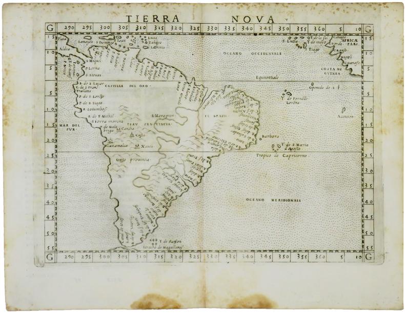 Tierra nova.. RUSCELLI (Girolamo) & PTOLÉMÉE (Claude).