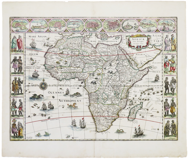 Africæ nova descriptio.. BLAEU (Willem).