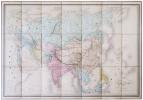 Carte physique & politique de l'Asie.. ANDRIVEAU-GOUJON (Eugène).
