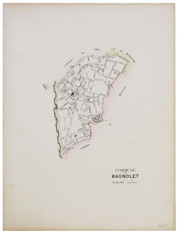 [BAGNOLET] Commune de Bagnolet.. ANONYME.