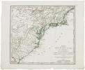 Carte des États-Unis de l'Amérique septentrionale, dressée d'après les cartes anglaises.. BRION de la TOUR (Louis).