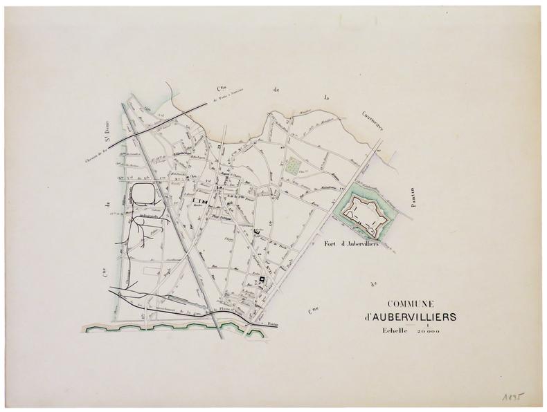 [AUBERVILLIERS] Commune d'Aubervilliers.. ANONYME.
