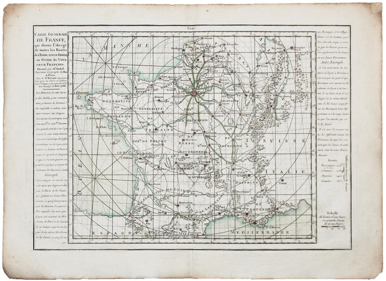Carte générale de France.. MICHEL (Claude-Sidoine).