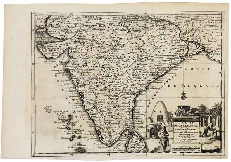 L'Inde de ça le Gange.. AA (Pieter van der).