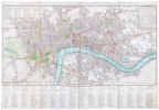 [LONDRES] Cary's new pocket plan of London, Westminster and Southwark; with all the adjacent buildings in St. George's Fields &c &c.. CARY (John).