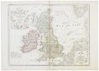 Les Isles Britanniques.. L'ISLE (Guillaume de).