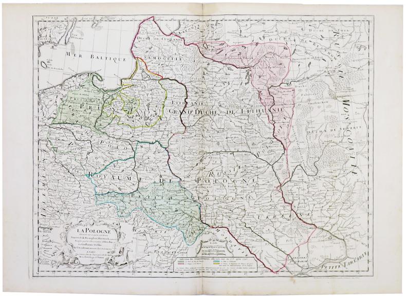 La Pologne.. L'ISLE (Guillaume de).