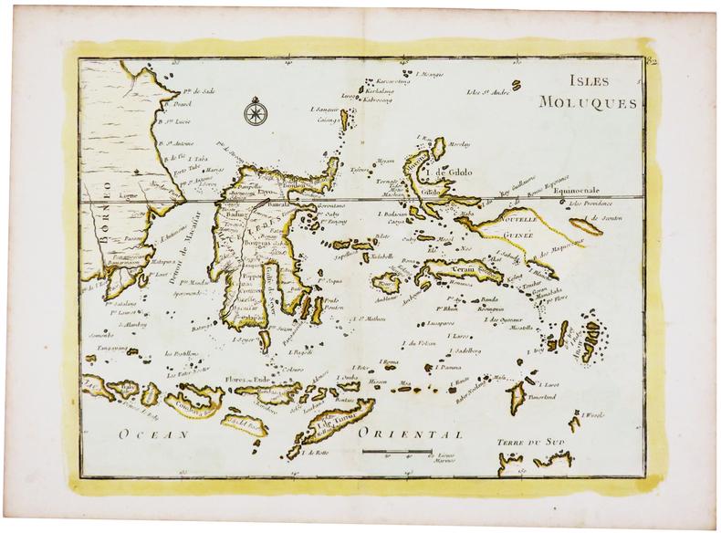 [ÎLES MOLUQUES] Isles Moluques.. LE ROUGE (Georges-Louis).