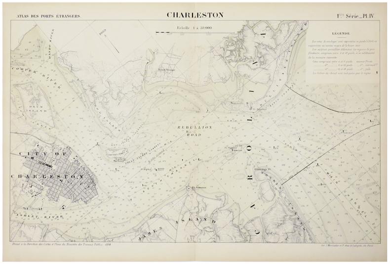 [CHARLESTON] Charleston.. MINISTÈRE des TRAVAUX PUBLICS.