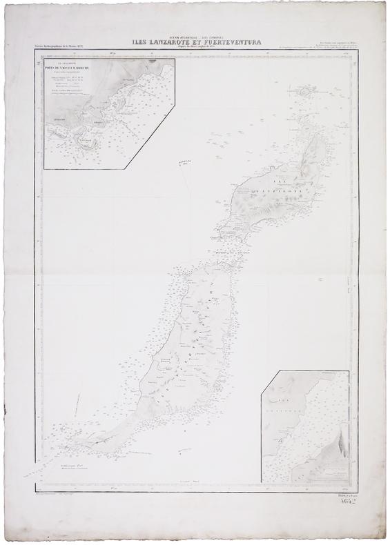 [CANARIES] Îles Lanzarote et Furteventura.. SERVICE HYDROGRAPHIQUE DE LA MARINE.
