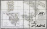 Carte statistique, politique, et minéralogique de l'Italie, où sont tracées toutes les routes, relais, et distances de postes, & les nouvelles ...