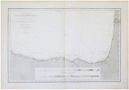 [ASTURIES/PAYS BASQUE] Carte particulière de la côte septentrionale d'Espagne.. DÉPÔT-GÉNÉRAL DE LA MARINE.