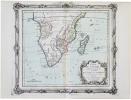 Partie de l'Afrique au delà de l'équateur, comprenant le Congo, la Cafrérie &c.. BRION de la TOUR (Louis).
