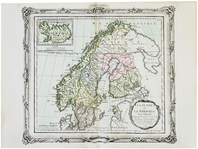 La Suède et la Norwège avec l'Islande.. BRION de la TOUR (Louis).
