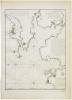 [LA COROGNE] Plan des havres de Ferrol, Betanze et La Corogne.. DÉPÔT GÉNÉRAL des CARTES PLANS et JOURNAUX de la MARINE et des COLONIES.