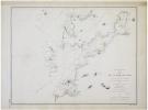 [VIGO] Plan de la baie de Vigo.. DÉPÔT des CARTES et PLANS de la MARINE.
