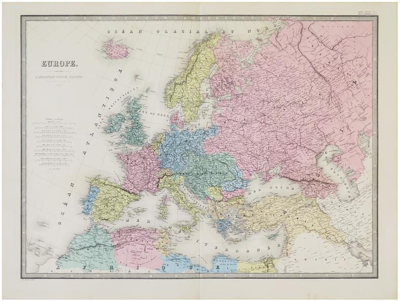 Europe.. ANDRIVEAU-GOUJON (Eugène).