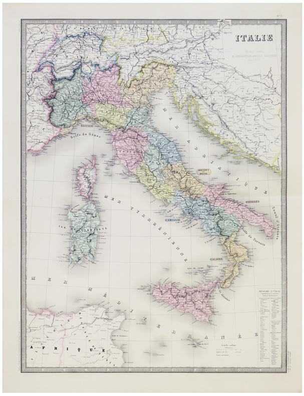 Italie.. ANDRIVEAU-GOUJON (Eugène).