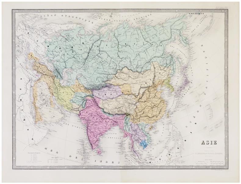 Asie.. ANDRIVEAU-GOUJON (Eugène).
