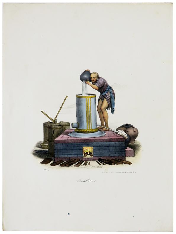 Distillateur.. MALPIÈRE (D. Bazin de).