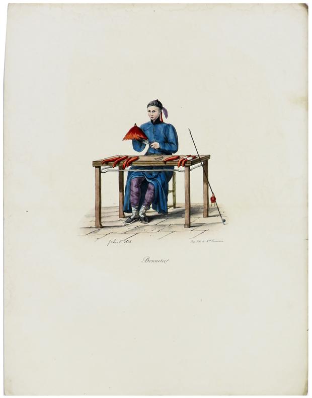 Bonnetier.. MALPIÈRE (D. Bazin de).
