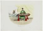 Musicienne jouant du chê.. MALPIÈRE (D. Bazin de).