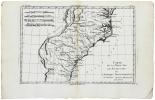 Carte de la partie sud des États Unis de l'Amérique septentrionale.. BONNE (Rigobert).